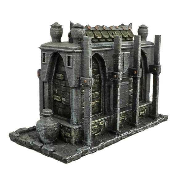picture regarding Printable Terrain named Shut Crypt