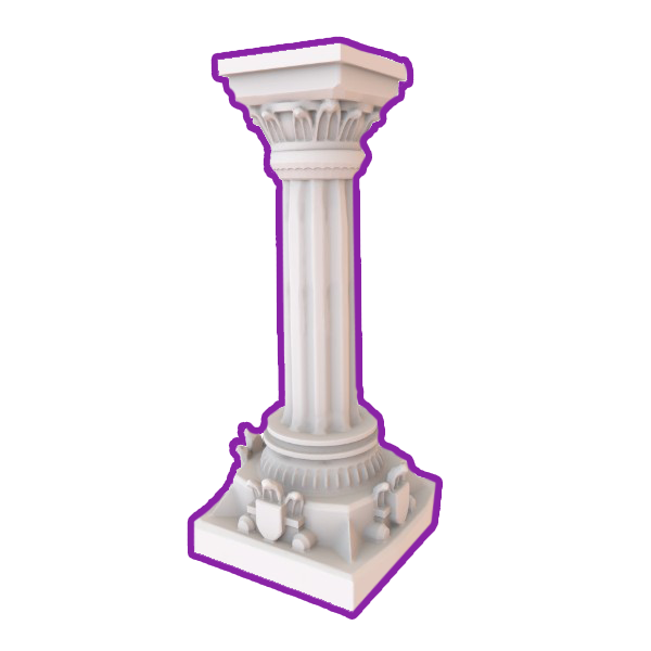 3D Printable Terrain - Dungeon Pillar – HG3D Suppliers of 3D